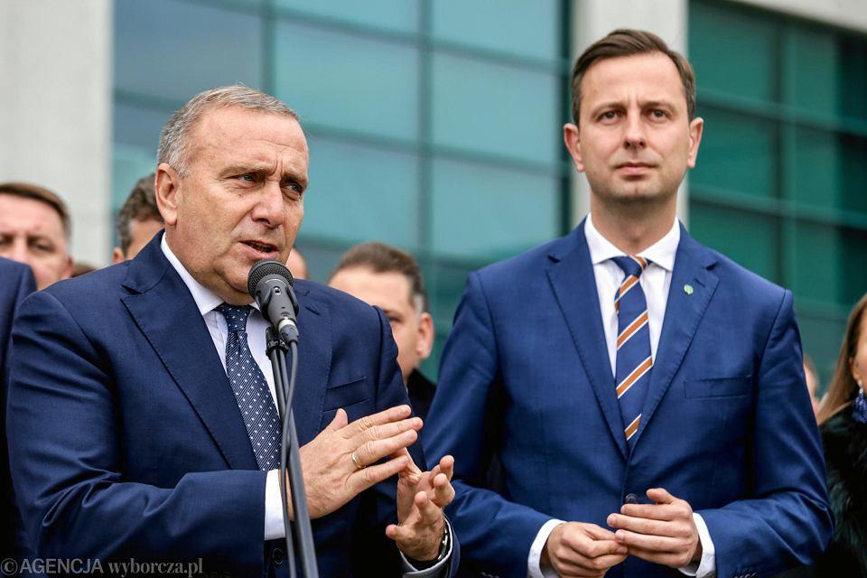 Do głosowania na kandydatów Koalicji Obywatelskiej przed II turą wyborów zachęcali na Stadionie Śląskim Grzegorz Schetyna i Władysław Kosiniak-Kamysz