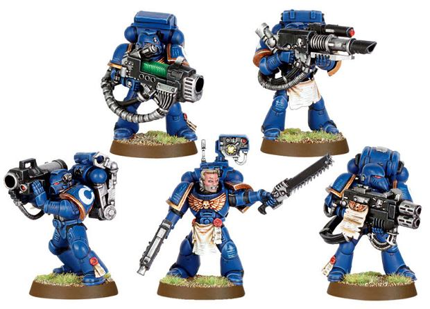 Plastikowi Space Marines