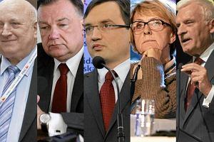 """Są już znane typy """"jedynek"""" do PE. Na listach m.in. Buzek, Kempa, Ziobro, Oleksy, Struzik, Kalisz i Huebner"""