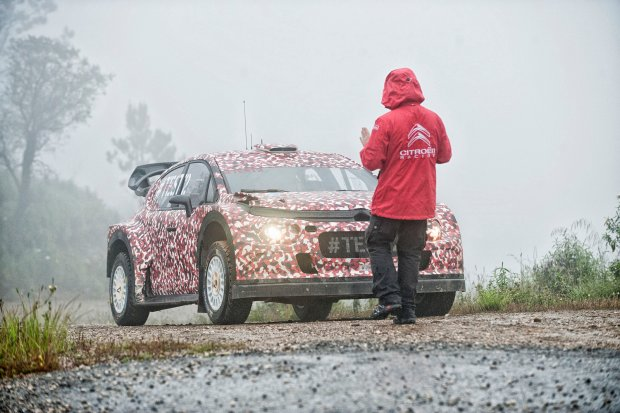 Citroen C3 WRC wchodzi do gry