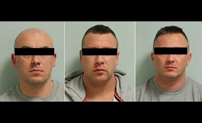 Zatrzymani przez brytyjską policję włamywacze z Polski