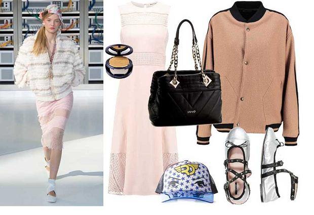 d00ceb058cc1 Różowa sukienka - zobacz jak robią to projektanci