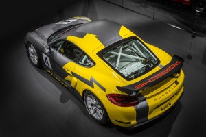 Salon Los Angeles 2015 | Porsche Cayman GT4 Clubsport | Tylko na tor