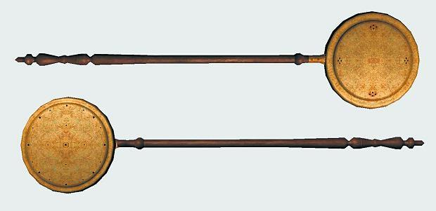 Otwory w metalowych szkandelach pozwalały dłużej żarzyć się węglom i wydobywać się ciepłu.