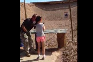 USA: 9-latka przypadkowo zastrzeli�a z Uzi instruktora strzelectwa [WIDEO]