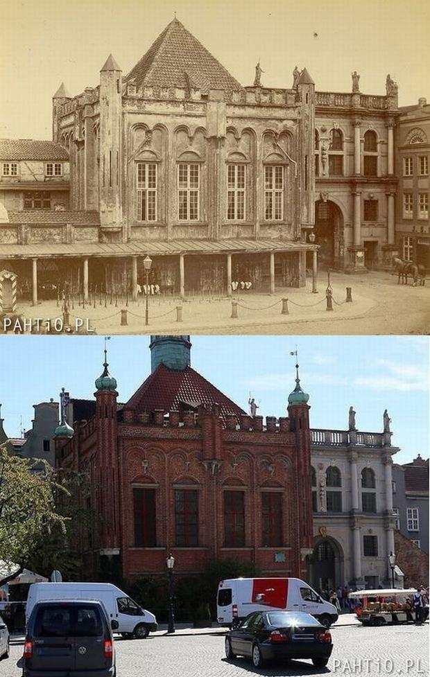 Zdjęcie numer 12 w galerii - Gdańsk dawniej i obecnie, te same miejsca. Obejrzyj, porównaj.... I co - jak zmieniło się miasto?