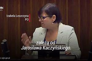 """""""Dajcie wreszcie święty spokój Jarosławowi Kaczyńskiemu. Uczcie się od tego człowieka..."""""""