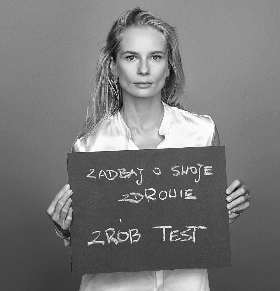 Magdalena Cielecka w kampanii Anji Rubik #SEXEDPL