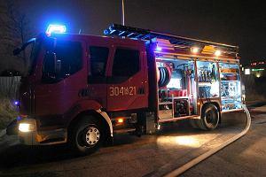Pożar w domu jednorodzinnym pod Starogardem. Zginęła starsza kobieta