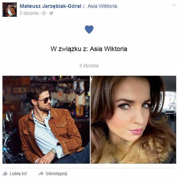 screen z Facebooka Mateusza Jarzębiaka