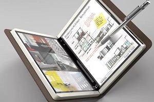 Tak może wyglądać Surface notepad - elektroniczny notatnik od Microsoftu