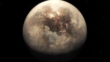 Tak może wyglądać nowa planeta - Ross 128 b