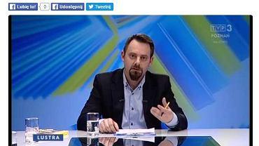 Piotr Bernatowicz w TVP Poznań