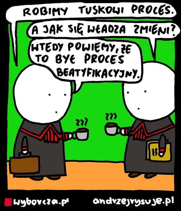 Andrzej Rysuje | Beatyfikacja - Andrzej Rysuje, 20.04.2017 -