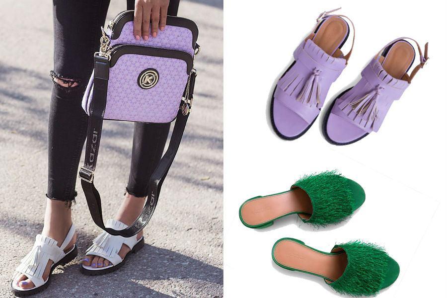 Buty w najmodniejszych kolorach sezonu