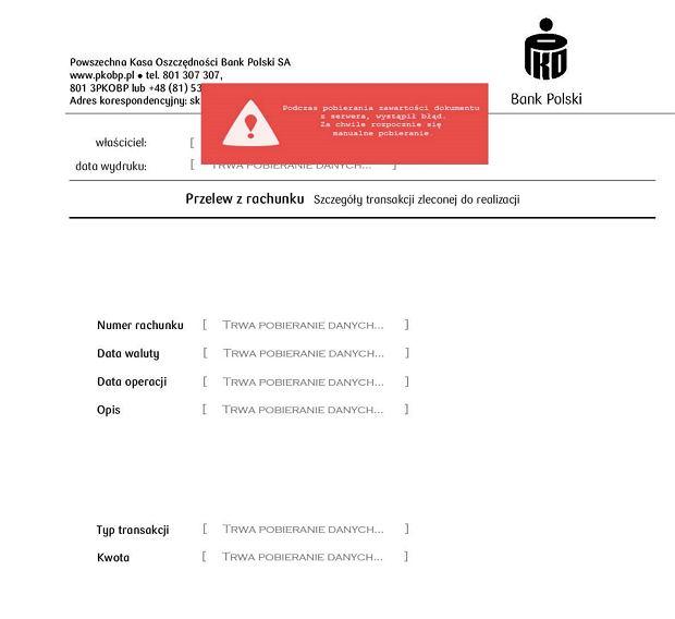 Fałszywy e-mail do klientów banku