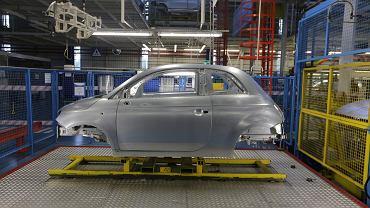 Fabryka Fiata w Tychach.