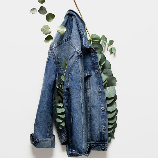 Dżins z recyklingu w H&M