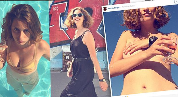 Louise Delage - fikcyjna postać kampanii społecznej na Instagramie