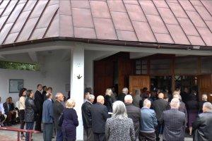 Pogrzeb by�ego nuncjusza J�zefa Weso�owskiego w Czorsztynie