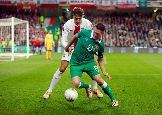 Irlandzka prasa o wczorajszym meczu: Irlandia zas�u�y�a na wygran�