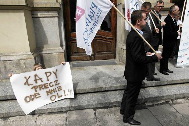 Krak�w: protest przeciwko edukacji seksualnej dzieci od przedszkola