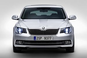 Skoda Superb po faceliftingu | Nowe zdj�cia