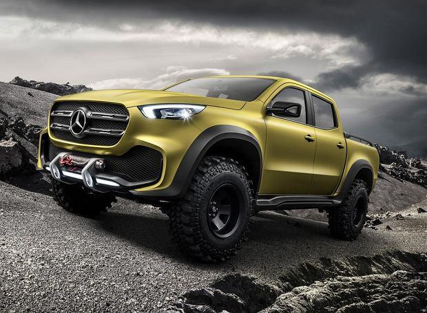 Mercedes klasy X Concept