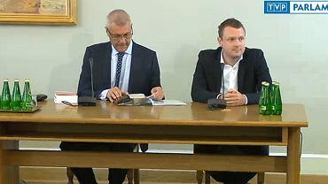 Michał Tusk zeznaje przed komisją śledczą ds. Amber Gold