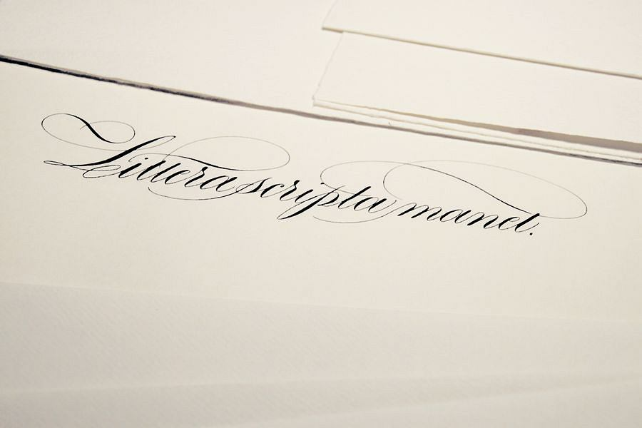 Kaligrafia, Copperplate / Ewa Landowska