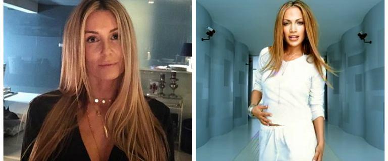 Fani porównują Rozenek do sławnej piosenkarki Niczym J.Lo z teledysku If You Had My Love. Są do siebie podobne?