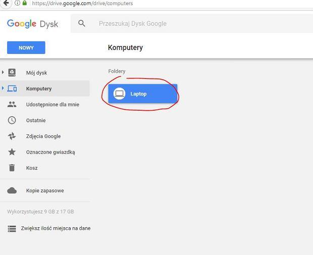 Synchronizacja danych z dyskiem Google jest łatwiejsza