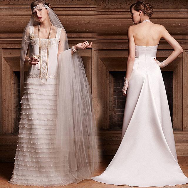 Suknie ślubne w stylu lat 20.