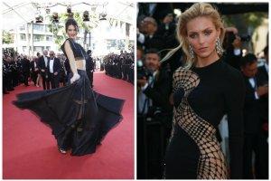 Cannes 2015: Anja Rubik i Kendall Jenner na czerwonym dywanie, tragiczna stylizacja Jane Fondy i supermodelki w seksownych sukienkach [ZDJĘCIA + RELACJA]