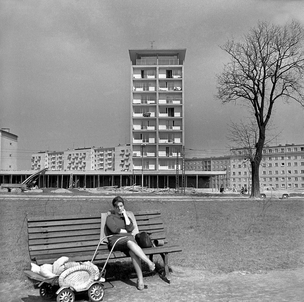 / Wojciech Plewiński, z cyklu 'Nowa Huta', 1958-1978, dzięki uprzejmości artysty