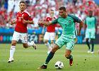 Węgry - Portugalia, mecz na wariackich papierach. Dwie bramki Ronaldo dały Portugalczykom awans z grupy [EURO 2016]