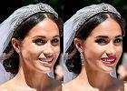 Uważasz, że makijaż ślubny Meghan był zbyt delikatny? Tak by wyglądała, gdyby umalowano ją mocniej [ZDJĘCIA]