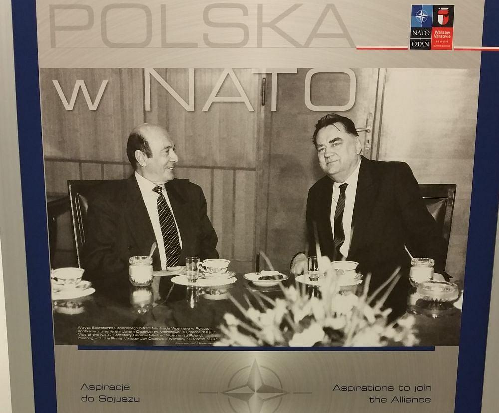 Wystawa zorganizowana przez MON na szczycie NATO (Fot. Michał Gostkiewicz/AG)