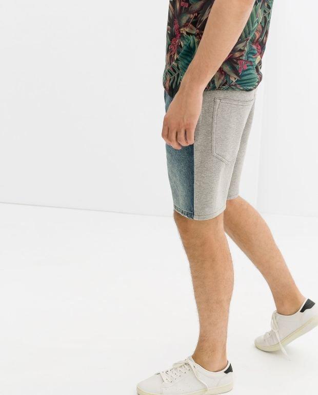 Spodenki z kolekcji Zara. Cena: 149 zł, moda męska, spodnie