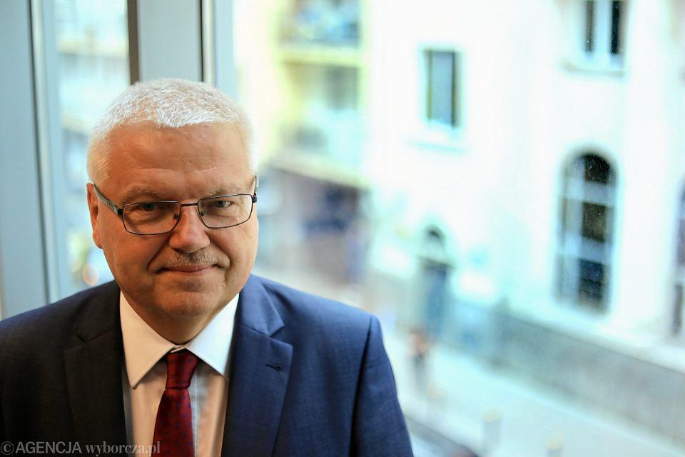 Dyrektor generalny ds. rolnictwa w Komisji Europejskiej Jerzy Plewa. Warszawa, 12 czerwca 2018