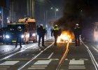 Zamieszki w Holandii po tajemniczej śmierci mieszkańca Karaibów. Zatrzymano już 200 osób