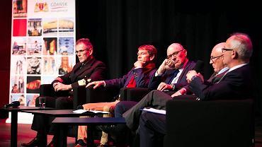 Debata Rektorów w ECS.