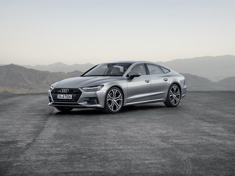 Audi A7 Sportback Ceny Silniki Zdjęcia Osiągi