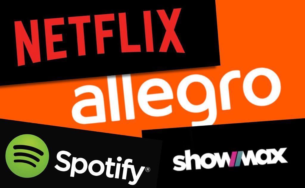 Netflix, Showmax i Spotify - z Allegro znikają podejrzane oferty