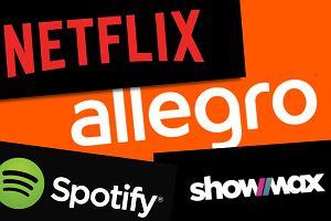Netflix, Showmax i Spotify znikają z Allegro - portal usuwa oferty kreatywnych sprzedawców