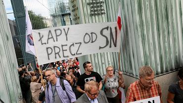 Sąd Najwyższy. Protest przeciwko PiS-owskim zmianom w sądownictwie