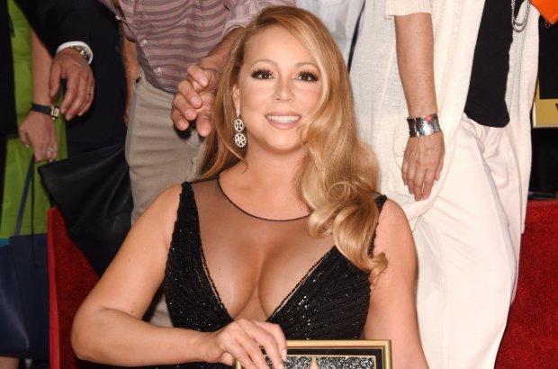 Mariah Carey odsłaniała swoją gwiazdę w Hollywood. To miał być jej moment. Ale kiedy obok diwy pojawiła się jej córka i 4-letni synek...