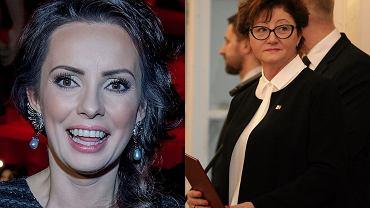 """Dorota Gardias z ogromnym zdumieniem przyjęła informację, że osoba nazywająca się dokładnie jak ona, będzie współpracowała z rządem. """"Panie Prezydencie ... No nie wiem co powiedzieć :)))))))"""" - zażartowała na Facebooku. Zobacz, które jeszcze gwiazdy noszą to samo nazwisko, a niekiedy, bywa i tak, również to samo imię."""