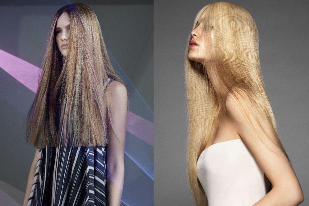 Wzory na włosach inspirowane naturą