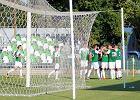 Warta Poznań - GKS Bełchatów 1:1. Radość piłkarzy Warty po golu na 1:0